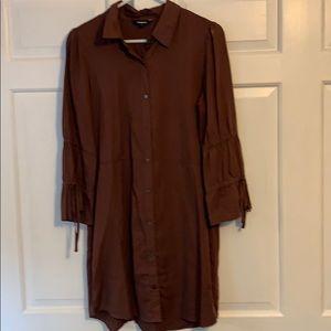 Express shirt dress
